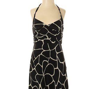 Ann Taylor  Print 100% Silk  Dress size 2
